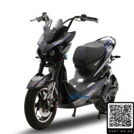 xe máy điện jeek batman màu đen bạc