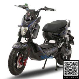 xe máy điện xmen pro osakar màu đen bạc